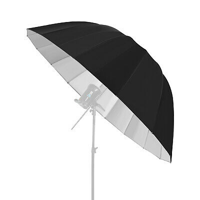 Neewer Deep Black/Sliver Umbrella Reflector - Light Diffuser and Modifier