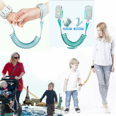 Anti-Loss Strap Wrist Link Hand Harness band Safety for Toddlers Child Kids #GU