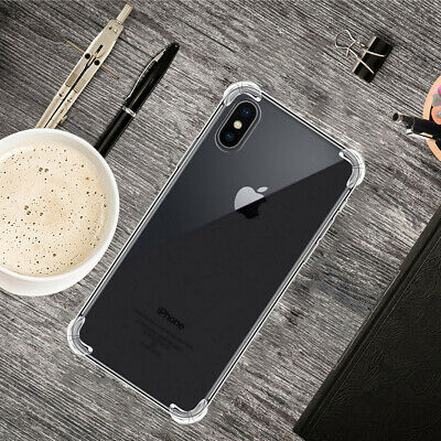 Ultra-thin Clear Soft Back Cover Case For iPhone 11 Pro Max XS XR X 8 7 6s Plus