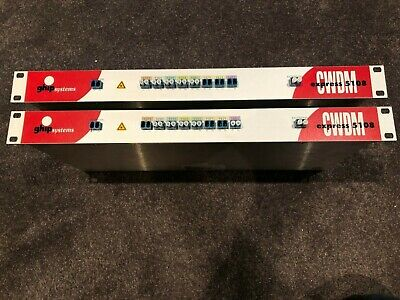 GHIP Systems CWDM Coarse Wave Division Multiplexer - 8 Wavelengths (Pair)