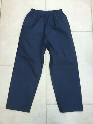 Peter Storm Childs Waterproof Outdoor / Walking Over Trousers Navy  Age 9-10