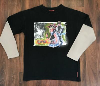 YU-GI-OH! Trading Cards LONG SLEEVED T-SHIRT ~ YOUTH SIZE 14 ~ COLLECTABLE