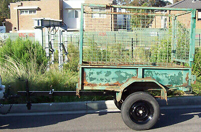 6 x 4 Tipping Cage Trailer ---needs work---