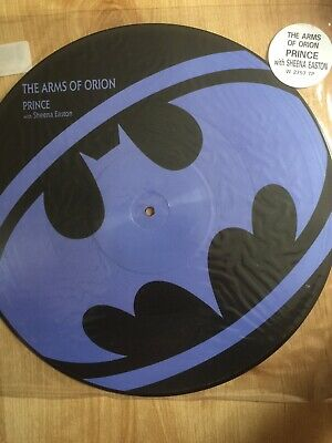 """PRINCE The Arms Of Orion UK 12"""" picture disc Paisley Park 1989 Unplayed"""