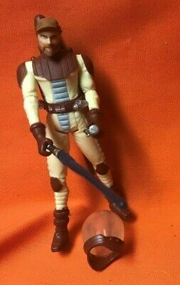 Star Wars The Clone Wars 2009 Obi-Wan Kenobi (space Suit) Action Figure CW12