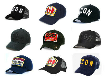 Dsquared Icon Baseball Hat Cap Dsquared2 Brothers Brand New UK Seller 9 Options