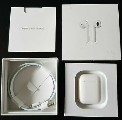 AirPods 2nd Generation with Wireless Charging Case- White