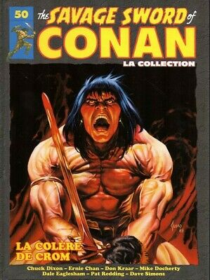 Bd - The Savage Sword Of Conan > Tome 50 / La Collection Hachette, Kraar, Dixon