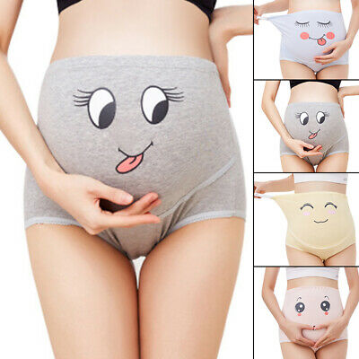 Maternity Panties Cotton Pregnant Women High Waist Briefs Underwear Support