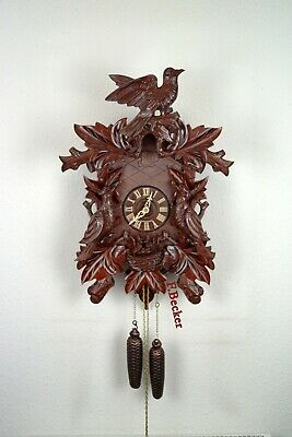 #10 Handmade Black Forest Cuckooclock - Bird Style - 8 Days