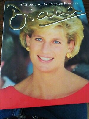 A Tribute to the People's Princess Diana Courage Books Hardcover nwot