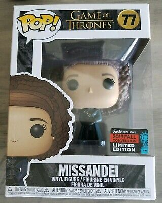 Funko Pop Game Of Thrones MISSANDEI! NYCC 2019 Shared Exclusive! New In Hand! 77