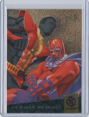 1994 Fleer Ultra X-Men FATAL ATTRACTIONS Chase Card #3 AN X-MAN NO MORE! Marvel