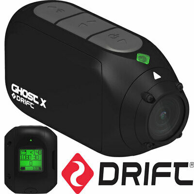 Drift Ghost X Compact 1080 Hd Action Camera Motorcycle Car Dash Cam Ski Sports