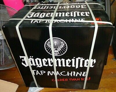 NEW Jagermeister Tap Machine Three Bottle Shot Dispenser Chiller Jemus Colder