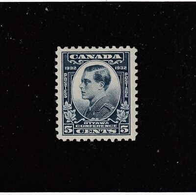 CANADA (MK4678) # 193  VF-MH  5cts 1932  PRINCE OF WALES/ DULL BLUE CAT VAL $10