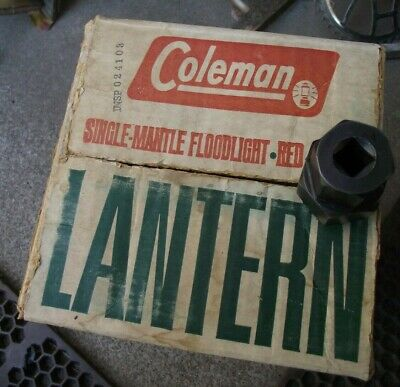 VINTAGE ReD COLEMAN 200A LANTERN BOX 1960S OPPORTUNITY WASHINGTON PAY N SAVE