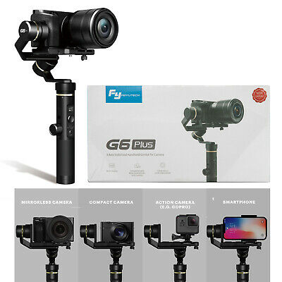 Feiyu G6 Plus 3-Axis Handheld Gimbal Stabilizer for Phones,Action /DSLR Cameras