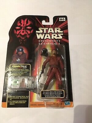 Rare Star Wars Episode 1 Commtech Naboo Royal Guard Figure MOC