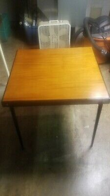 SINGER FEATHERWEIGHT Model 221  SEWING MACHINE TABLE Refinished Walnut Table Top