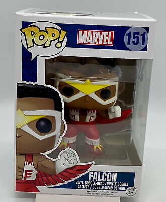 Marvel Falcon Pop #151 Funko Classic Pop Bobble Head Vaulted 2016