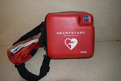 ^^Philips Fr2+ Heart Start  W/ First Aid Kit (Dd)