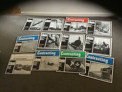 Chem constructing old engineer 1960s catalogue magazines  tractors trucking etc