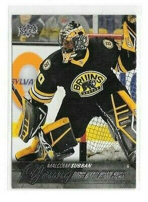 2015-16 Upper Deck Young Guns Rookie #211 Malcolm Subban Rc Bruins Pwe Ship