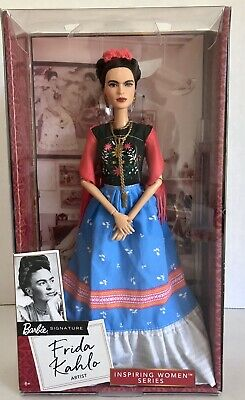 NIB Barbie Mattel Inspiring Women Series FRIDA KAHLO Artist Limited Edition Doll