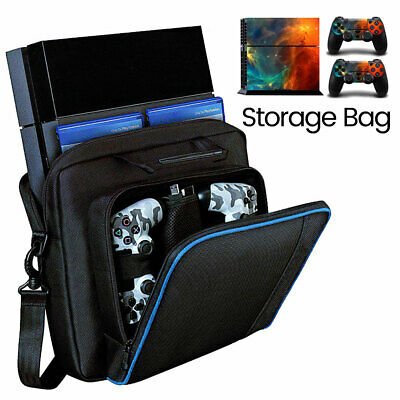 Black For PS4/Slim Game Consoles Accessories Shoulder Bag Travel Carry Case USA
