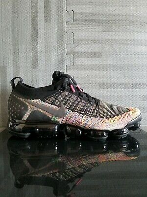 Nike Air Vapormax 2 Flyknit Multicolor Running Shoes 942842-017 Men's Size 12.5