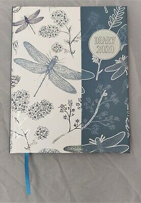 Diary 2020 Ozcorp A5 Flip Cover Week to View Dragonfly D447