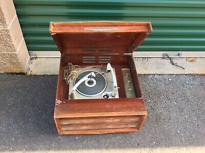 Vintage Rca Victor Stereo Record Player Great Sound