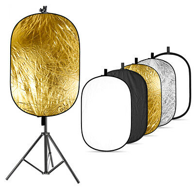 Neewer Photography Reflector with Light Stand Kit with Metal Reflector Clamp