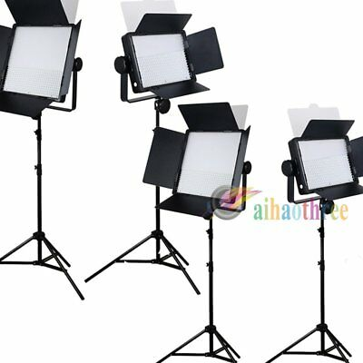 4Pcs GODOX LED500W + LED1000W White Version LED Studio Light + Light Stand【AU】