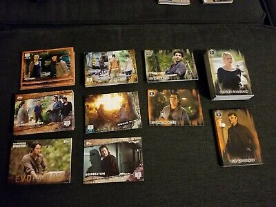 2017 & 2018 Topps The Walking Dead HUGE Trading Card Lot Of 188 cards Inserts++
