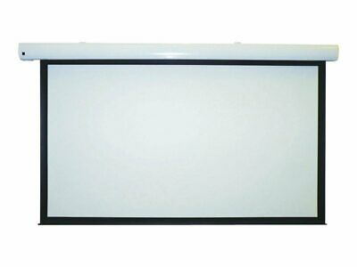 NEW! Metroplan SEW20 Motorised Projection Screen With 12V Trigger And Ir Remote.