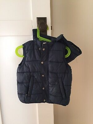 SEED BOYS PUFFER VEST Size 4
