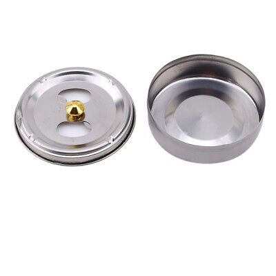 Stainless Steel Windproof With Lid For Indoor Outdoor Ashtray Cigarette GR