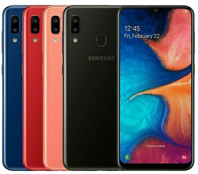 "Samsung Galaxy A20e 5.8"" 2019 32GB 4G LTE Dual Sim Unlocked Android Smartphone"