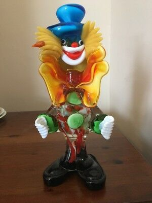 Murano Glass Clown