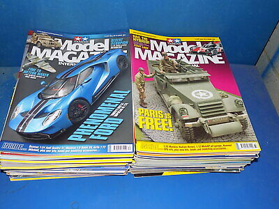 Tamiya Model Magazine 1995 to 2019 - Select From Back Issues