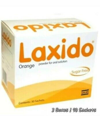 90 Laxido orange sachets BRAND NEW!