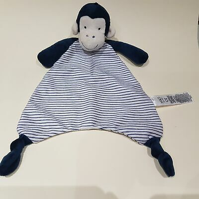 Blue And White Blankie Soother Comforter By Marks And Spencer NEW