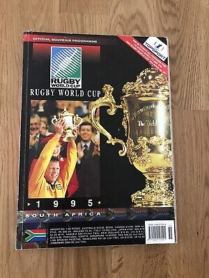 Rugby World Cup 1995 Official Souvenir Programme very good condition