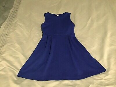 Girls Blue Party Dress From New Look Age 9 Years