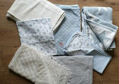 Baby Blankets X 7 Excellent Condition