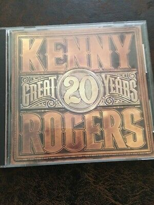 20 Great Years [Remaster] by Kenny Rogers (CD, Mar-2007, Rhino (Label))