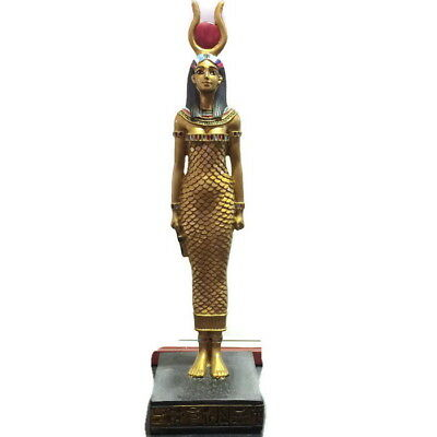 """8"""" ISIS Ancient Egyptian Goddess Statue Egypt Sculpture Collectible Decor Figure"""