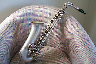 C G  CONN 1929 New Wonder Alto Silver Saxophone & Case